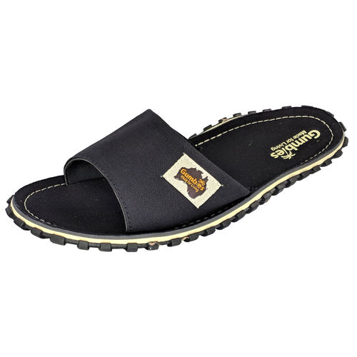 Gumbies Islander Slide Herren, black