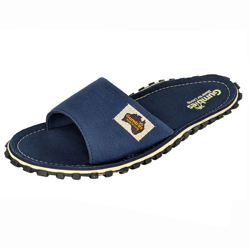Gumbies Islander Slide Damen, navy