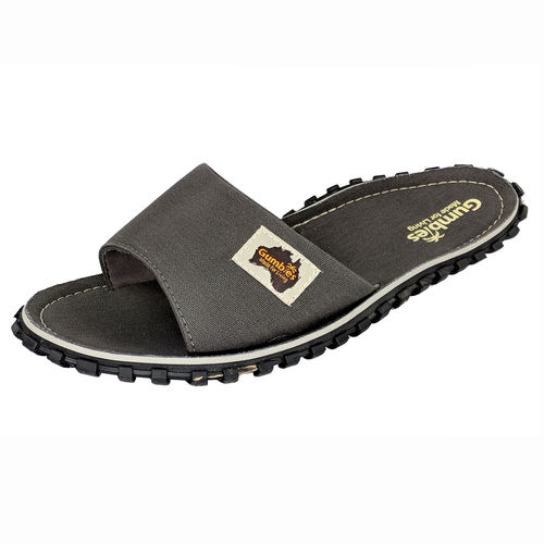 Gumbies Islander Slide Herren, grey
