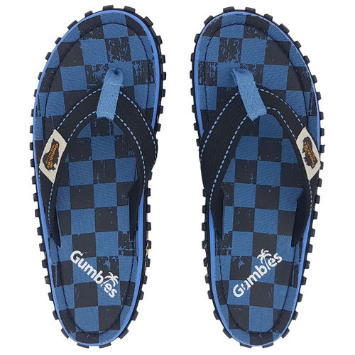 Kinder Gumbies Flip Flop blue checker