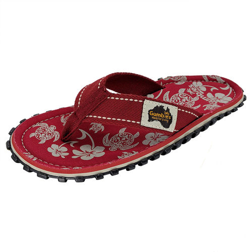 Gumbies Islander Flip Flop Damen, pacific red